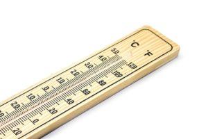 obniżenie temperatury kleju